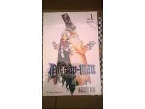 Manga D-Gray Man