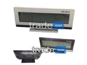 Orologio sveglia datario termometro digitale da tavolo