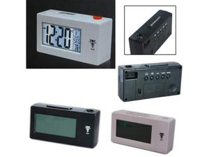 Sveglia orologio temperatura con proiezione schermo lcd