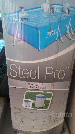 BESTWAY Piscina Steel Pro Frame Rettangolare 400x2