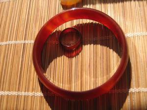 Bracciale Cerchio di Corniola
