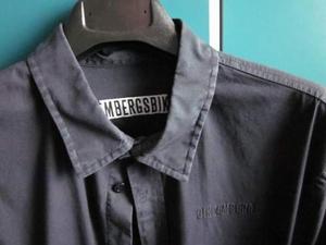 Camicia Bikkenberg nera taglia xl, usata massimo tre volte