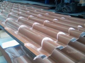 Tre copertura in pvc finto coppo tegola posot class for Finto coppo