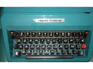 Macchina scrivere Olivetti Studio 45