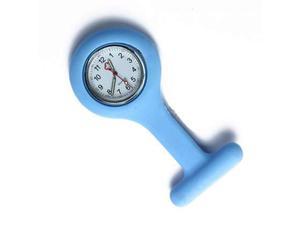 Orologio infermieri silicone con spilla da tasca