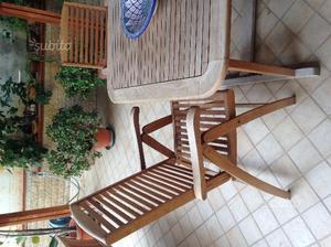 Vendo tavolo da esterno 8 posti 6 sedie posot class for Tavolo sedie da esterno