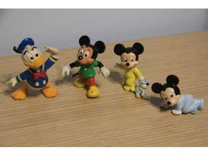 Topolino, Paperino Disney anni 80 Bully 4pz