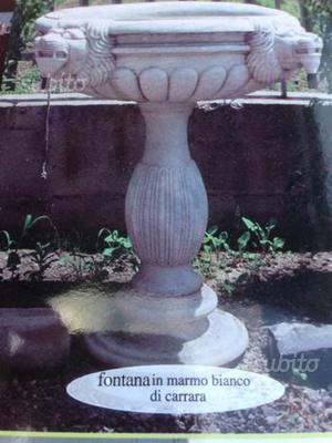 Vasca ornamentale in pietra