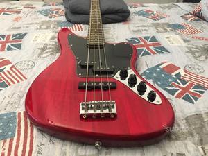 Basso elettrico 4 corde Squier Jaguar Bass Active