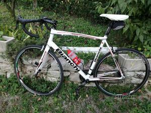 Bicicletta da corsa Bianchi via Nirone 7 perfetta