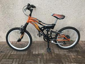 Bicicletta mtb mountain bike bambino 20
