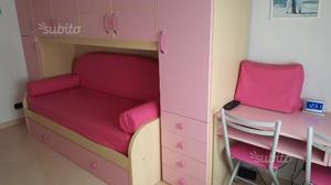Cameretta rosa e bianca posot class for Cameretta rosa