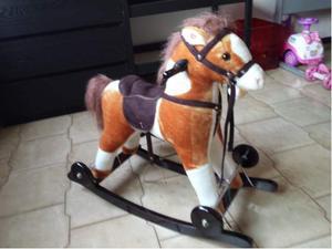 Cavallo A Dondolo Con Ruote.Cavallo A Dondolo E Regalo Titti Originale Posot Class
