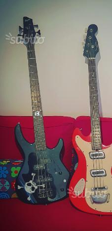 Fender Squier mb4 skull