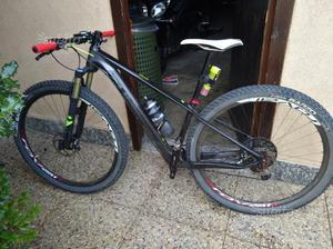 MTB 29 Cube reaction sl  taglia S ruote carbon