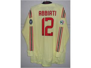 Maglia Milan match worn Abbiati