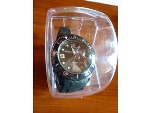 Orologio con datario cinturino silicone nuovo