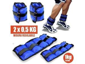 Pesi caviglie polsi cavigliera sport arti marziali fitness
