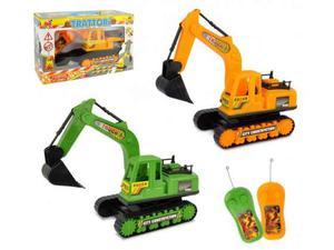 Ruspa giocattolo radiocomandata con braccio meccanico e