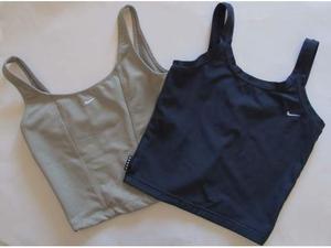 Top da training Donna Nike, uno blu e uno a righine