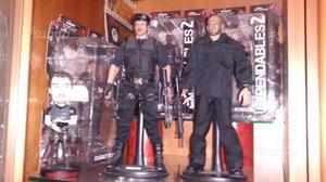 Barney Ross Mercenari 2 Hot Toys + Jason Statham c
