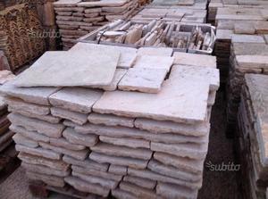 Basolato di recupero gradini Pietra da muratura