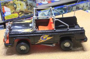 mattel big jim safari jeep e roulotte con barca posot class. Black Bedroom Furniture Sets. Home Design Ideas