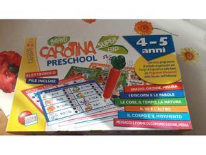 Carotina preschool gioco educativo