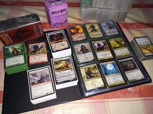 Mazzi, lotti e varie carte di Magic