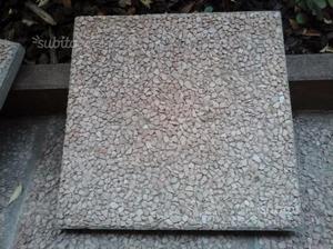 120 piastrelle da esterno plastica forate 40x40 posot class