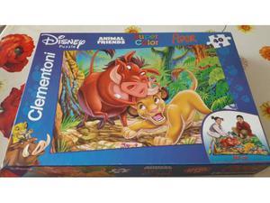 Puzzle Clementoni Re Leone Disney 40 pezzi grandi