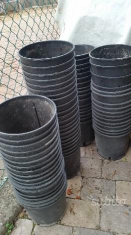 Vasi Neri In Plastica.Vasi In Plastica Neri Posot Class