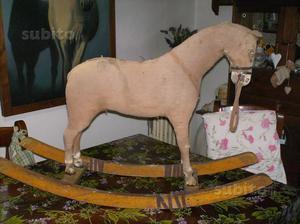 Cavallo A Dondolo Peg Perego.Cavallo A Dondolo Rocky Peg Perego Elettrico Posot Class
