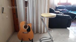 Chitarra appoggia chitarra sgabello posot class