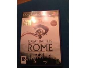 Gioco Playstation 2 - Great battles of Rome