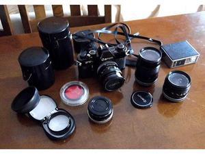 Macchina fotografica CANON FTB completa di accessori e