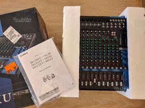 Mixer 16 Canali Nuovo Yamaha MG16XU