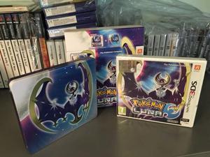 Pokemon Luna Limited Fan Edition, (nuovo) 3DS