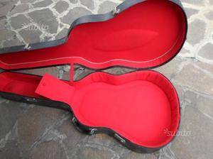 Vintage custodia per chitarra folk