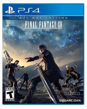 C.e.r.c.0. Final fantasy XV per PS4