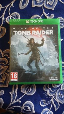 Gioco xbox one rise of the tomb Raider
