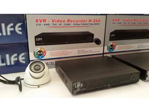 Kit video sorveglianza ahd 4 canali