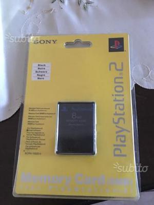Memory card e telecomando Sony ps2 sigillato