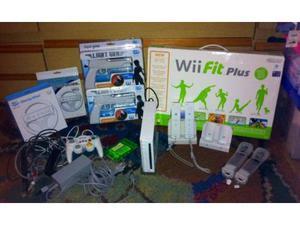 Nintendo Wii con tanti accessori