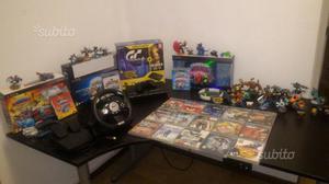 PS3 PLAY STATION 3 vari giochi, volante, Skylander