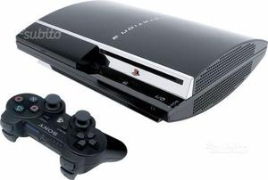 Playstation 3 con 4 giochi