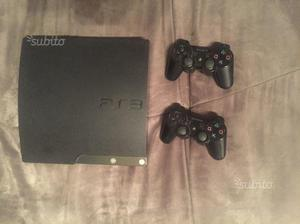 Ps3 Slim 120Gb + 2 Joystick + 11 giochi