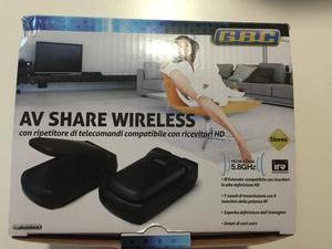 Ripetitore tv di telecomandi av share wireless