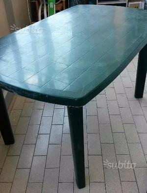 Tavolo di Plastica