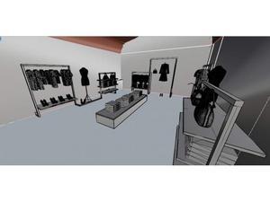 Temporary shop presentazione collezione